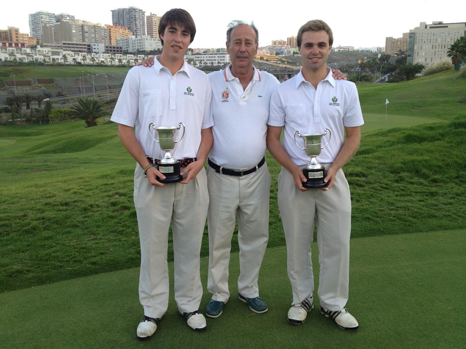 Campeones de España de Dobles de Pitch & Putt 2012