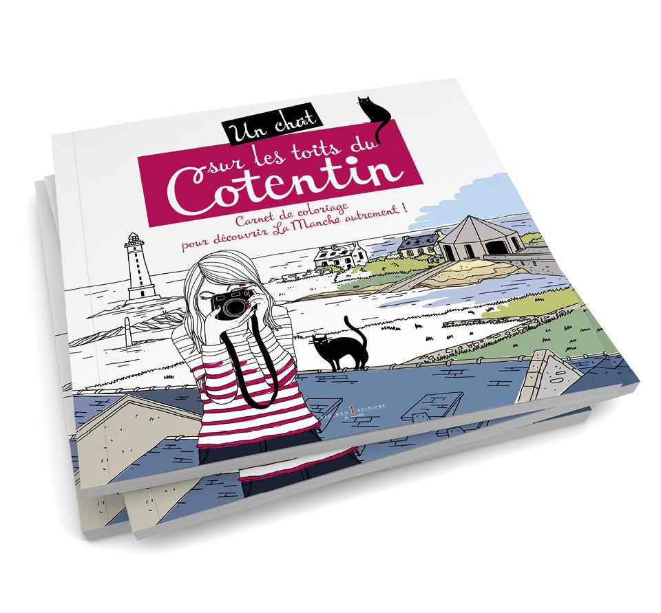 Un carnet de coloriage sur la Manche