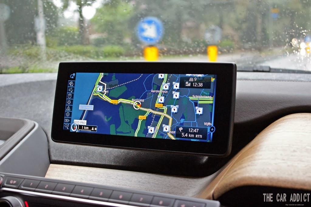 navigation bmw i3