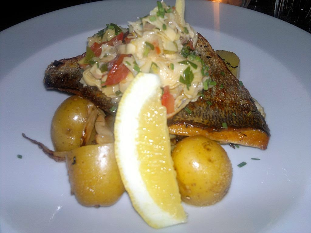 Sea bream at the Catford Constitutional