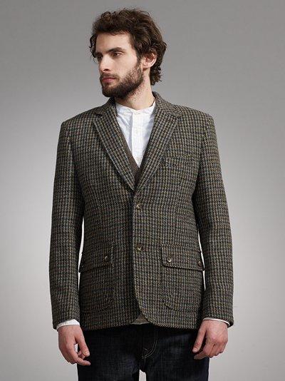 grey fox a modern take on a traditional harris tweed jacket