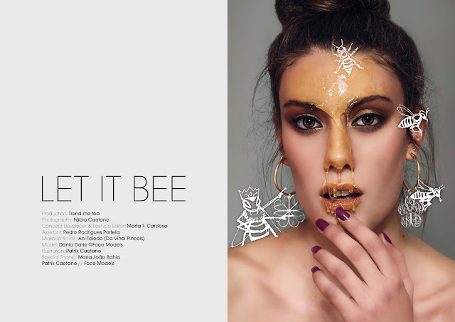 fashion editorial, let it bee, trend me too, dania darie, jute magazine