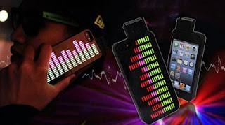 The iEqualizer iPhone 5 Case, Casing iPhone Yang Menyala
