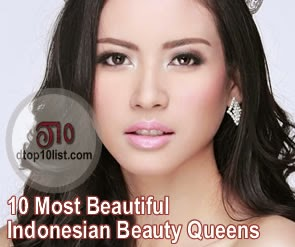Top 10 Most Beautiful Indonesian Beauty Queens