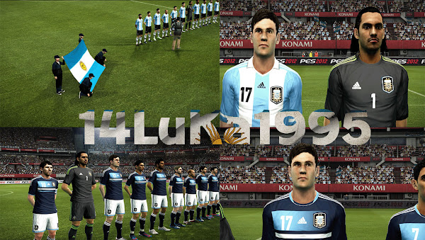 PES 2012 Argentina 2012/13 Kits by Dino   Modified by 14Luka1995