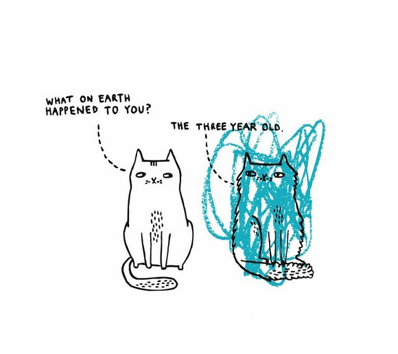 It's A Cat's Life by Gemma Correll