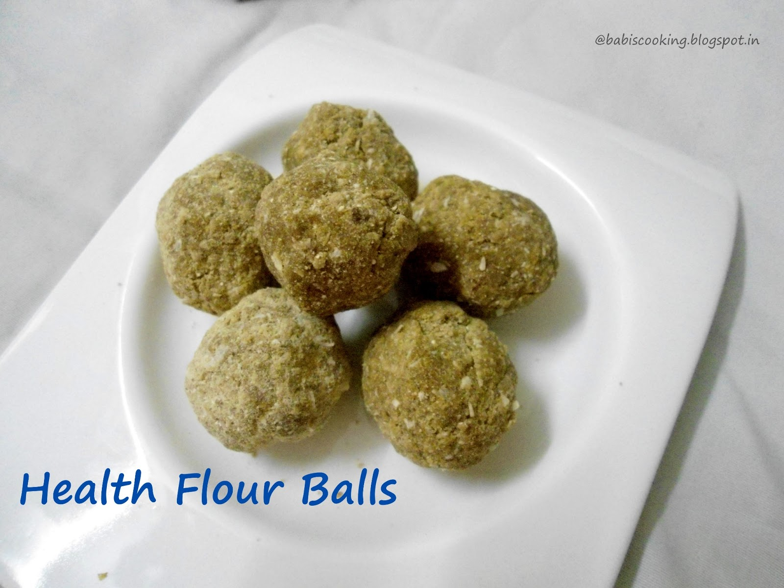 health mix ladoo