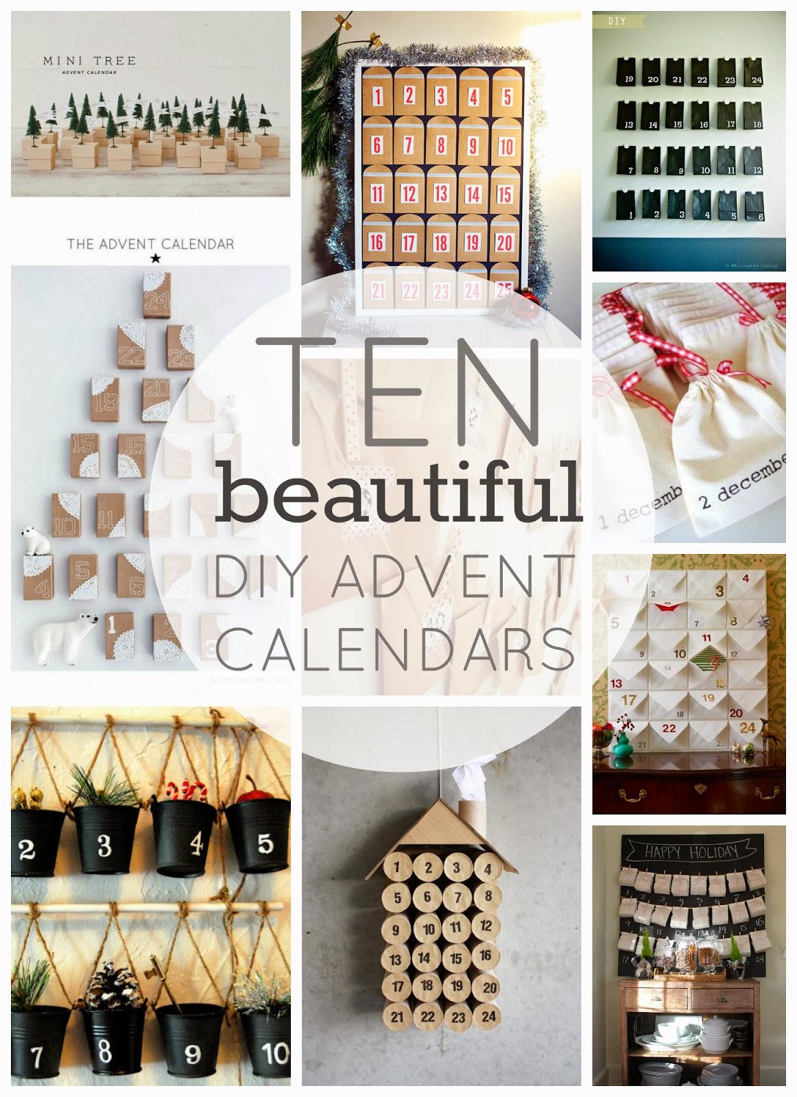 Advent Calendar Ideas Diy : Clever and adorable diy advent calendars library