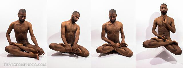 Male meditation nude — img 10