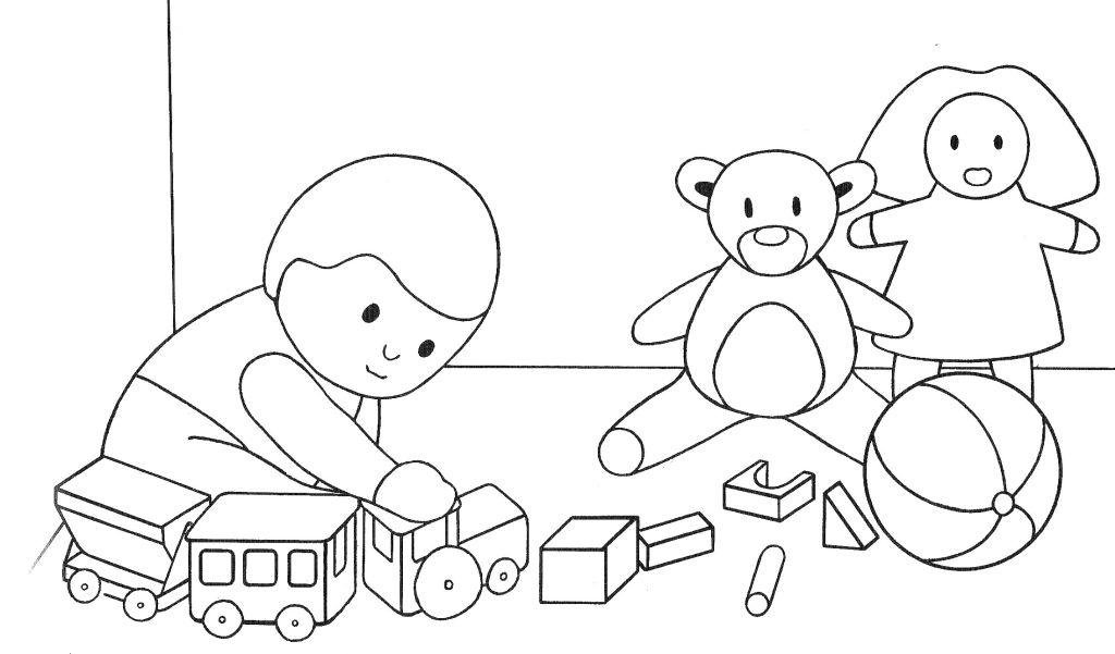 La classe des petits janvier 2013 - Coloriage classe ...