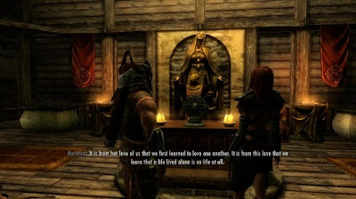 Marriage in Skyrim