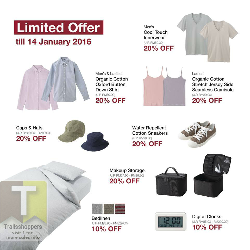 Muji New Year SALE 2016