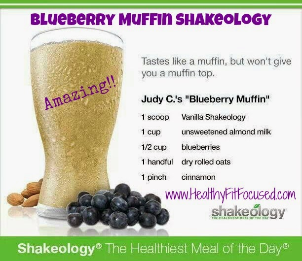Blueberry Muffin Shakeology
