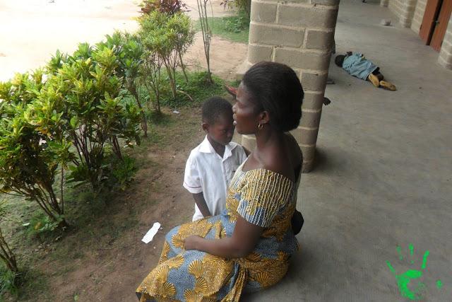 Bambini della scuola africana di Atchanvé, Togo