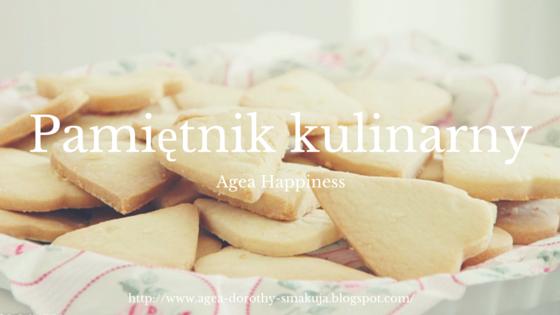 Pamiętnik kulinarny Agea Happiness