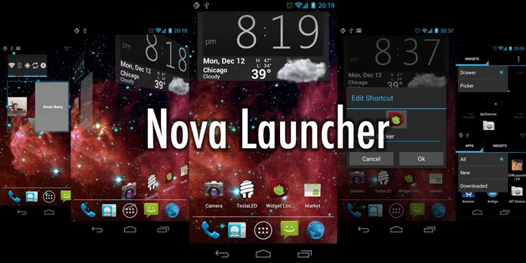 Nova Launcher Full Prime Apk İndir