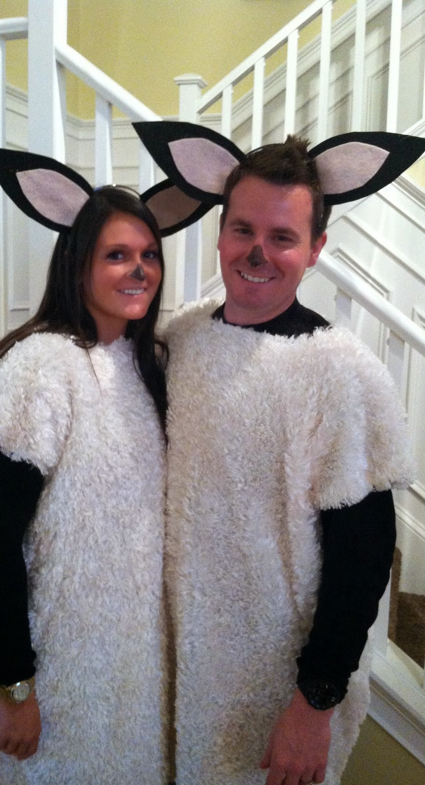 Bo Peep and her sheep  sc 1 st  Made It. Ate It. Loved It. & Made It. Ate It. Loved It.: Adult Costume Ideas