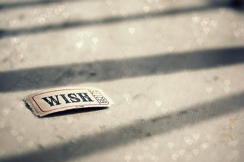 ( أمنيات )  Wish