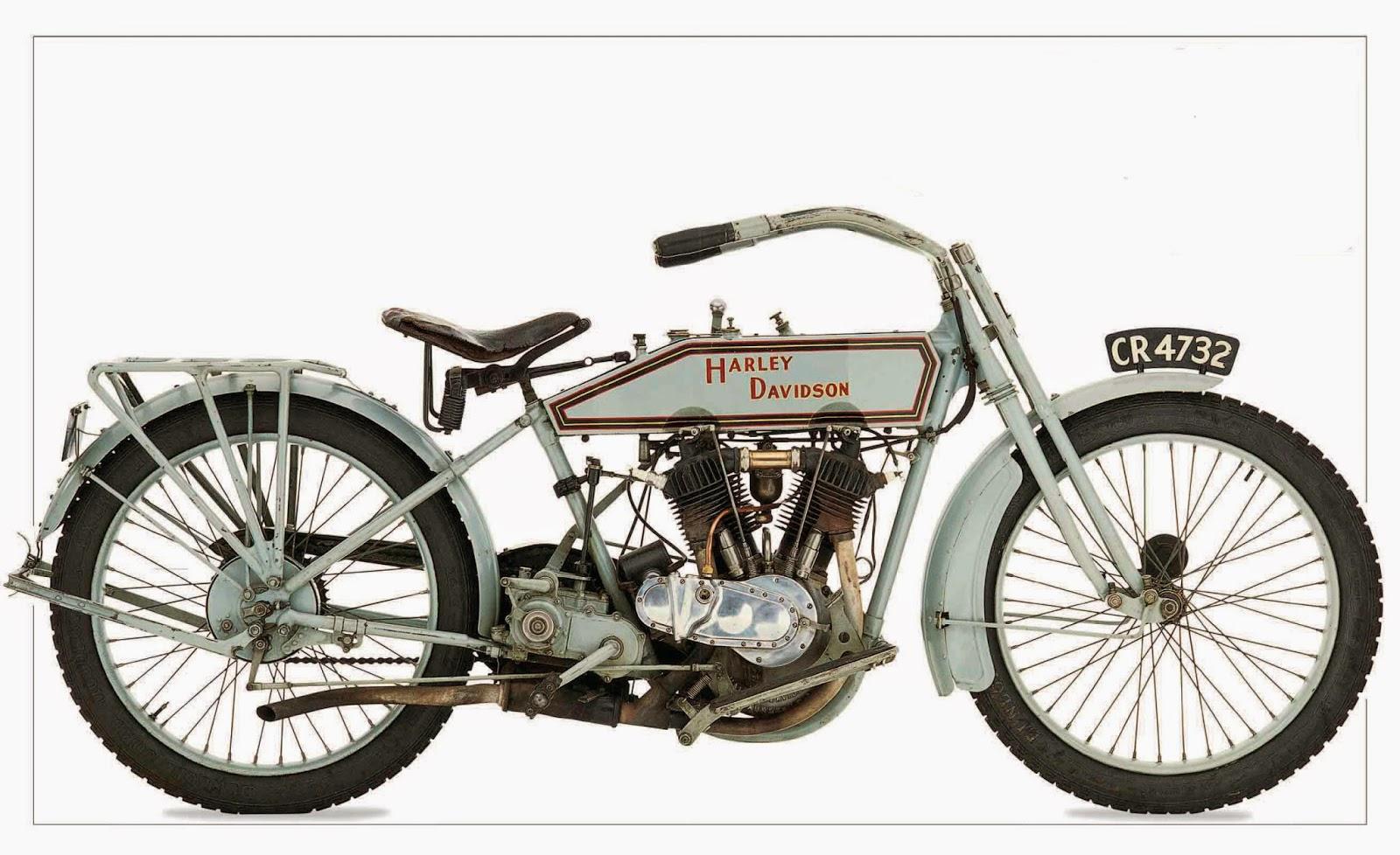 Harley-Davidson 1915 Model F