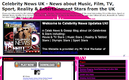 UK Celebrity News & Gossip Blog & Website