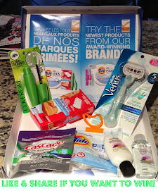 Win a P&G Sample Pack!