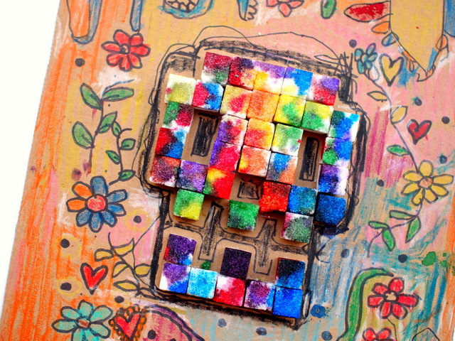 Sugar Cube Sugar Skull Art- Fun Way to make art with preschoolers!
