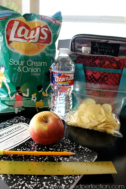 Try surprising your kids with these Chalkboard Tape Lunch Box Notes! Stock up on your lunch supplies at #TomThumb #AHugeSale #ad