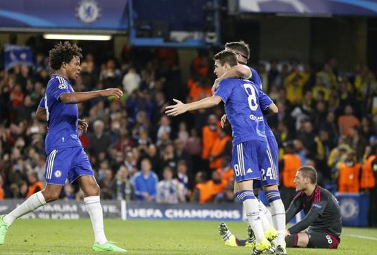 Chelsea 4 x 0 Maccabi Tel Aviv - Grupo G / Champions League 2015/16