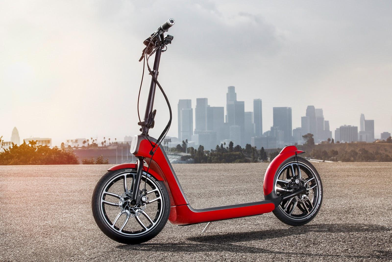 Mini S Citysurfer Electric Scooter Concept W Videos