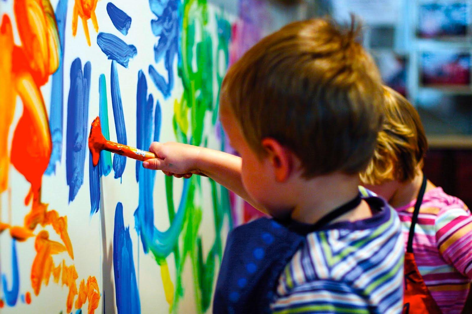 Faça arte com crianças