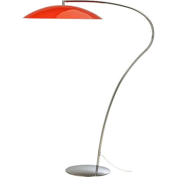 The aedis stuff i want cb239s atomic lobster floor lamp for Cb2 orange floor lamp