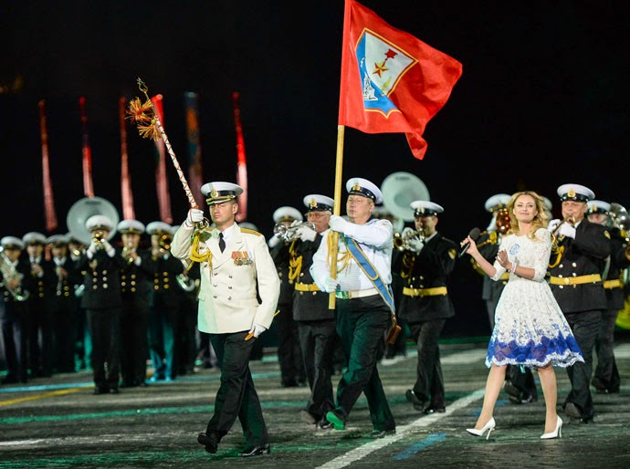 Tower Military Music Festival on Red Square: HD Pictures