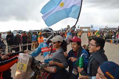 Reunión binacional para promocionar el Rally Dakar 2016 y su paso por La Quiaca - Villazón