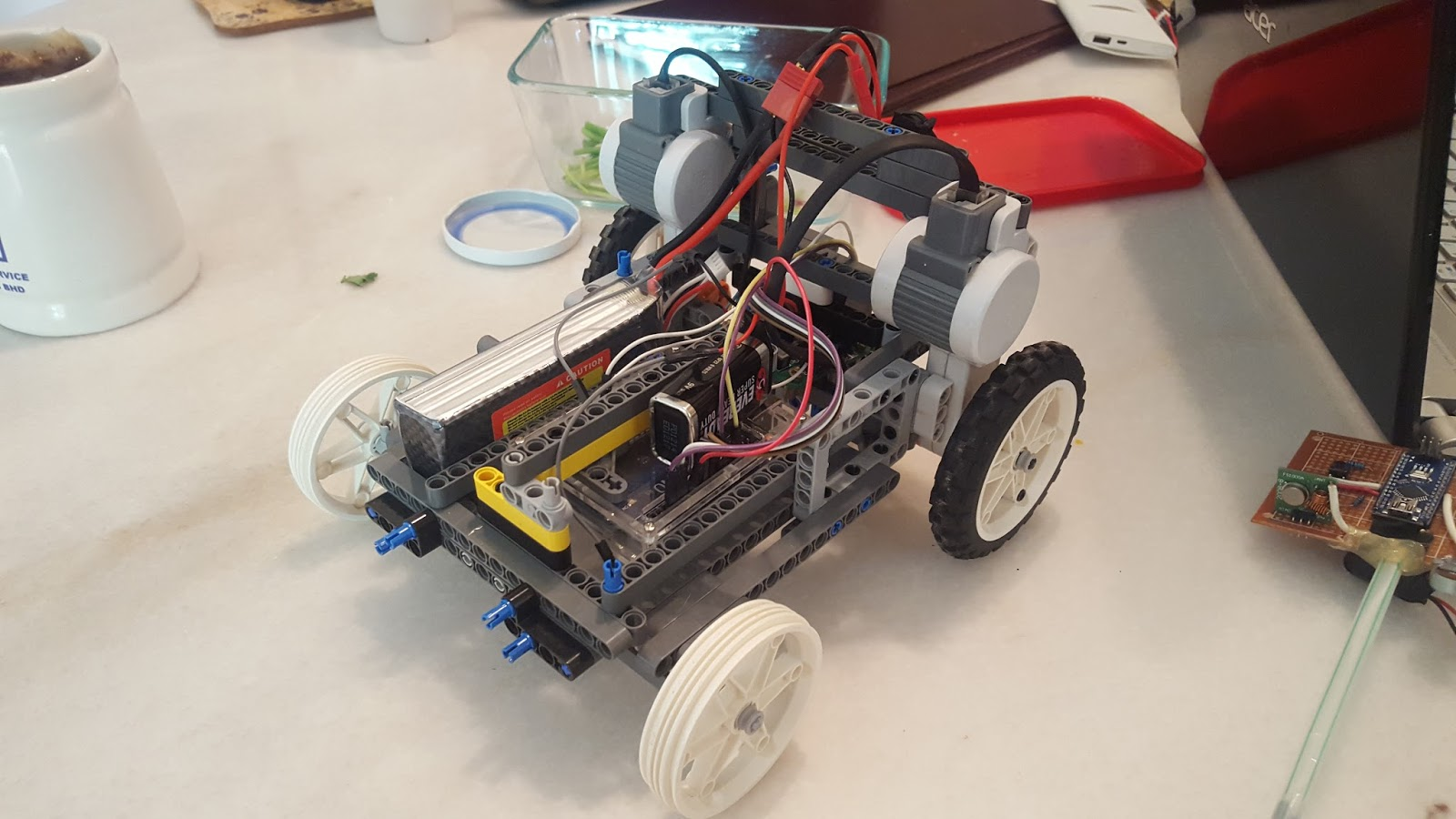 Joshua s robotics projects lego arduino rc car