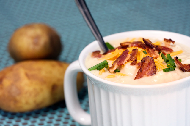 Baked Potato Soup - The Witch in the Kitchen