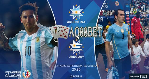 "Agen Bola AQ88bet - Tim nasional Uruguay bakal menjalani duel panas menghadapi Argentina pada lanjutan Grup B Copa America 2015, Rabu (17/6/2015). Para punggawa ""La Celeste"" mengaku sudah siap menjalani duel menghadapi ""tim Tango"" tersebut."