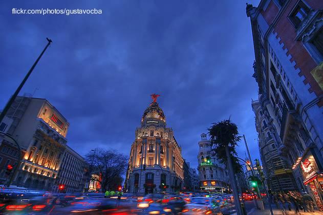 Ciudad de Madrid en España