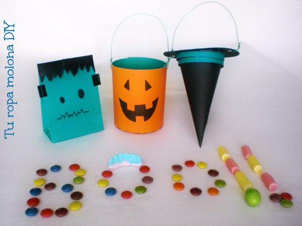 DIY Bolsas de chuches Halloween