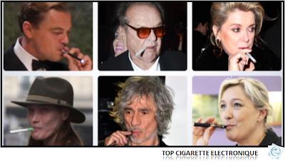 Les stars Vapotent la cigarette électronique, et vous?