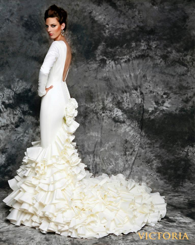 vestidos de novia con aire andaluzvicky martin berrocal. - mis