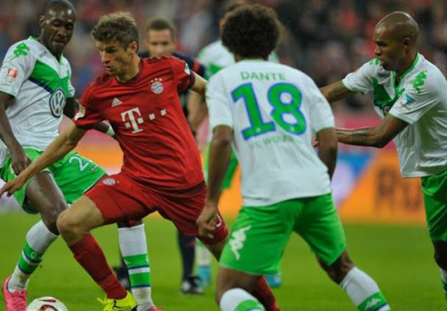 Results DFB Pokal 2015 Wolfsburg vs Bayern Munich 1-3