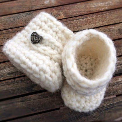 Crochet Baby Uggs - Free Pattern