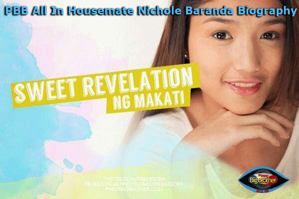 PBB All In Housemate Nichole Baranda Biography