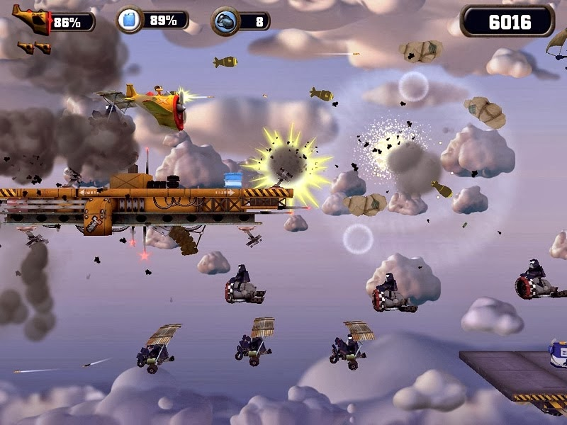 Crazy Chicken Sky Botz Download Fully Full Version PC Game