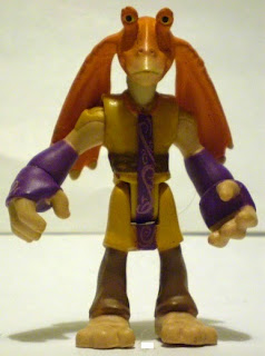 Front of Playskool Jar Jar Binks