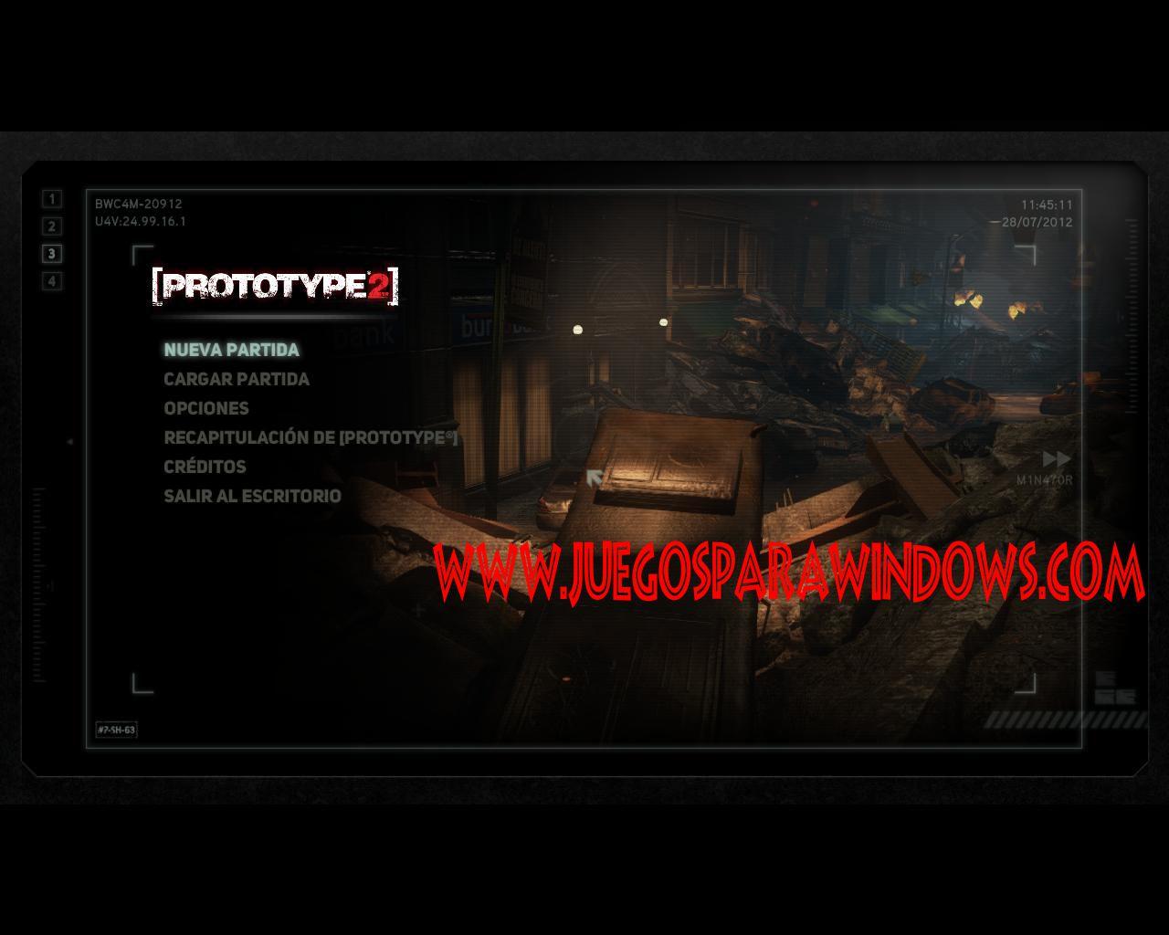 imagenes propias prototype 2 PC Descargar