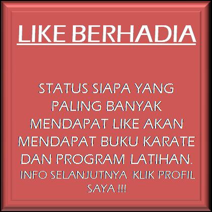 LIKE BERHADIAH