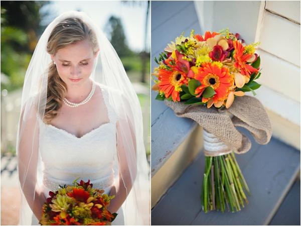 Fullerton Arboretum Wedding by Jen Disney (www.jendisney.com) #bouquets