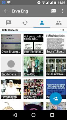 Cara Menghapus (Delete) Contact BBM