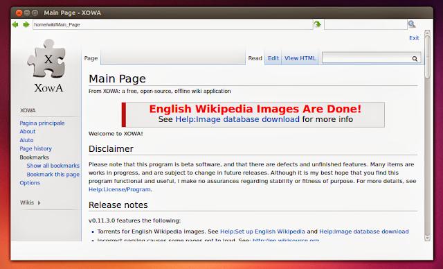 Xowa: Wikipédia Offline